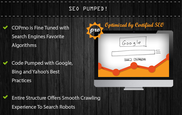 SEO friendly Blogspot template
